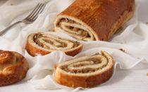 Булочки с ореховой начинкой пошаговый рецепт в духовке с фото